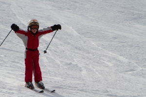 kids skiing in Steamboat Springs