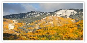 First Snow in Steamboat Springs