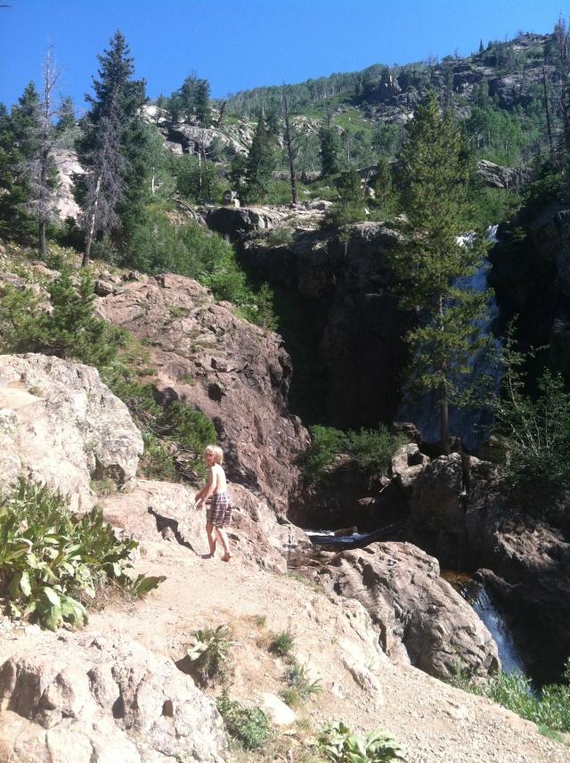 Upper Fish Creek Falls